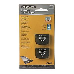 Fellowes SafeCut Straight Blade - Pack of 2