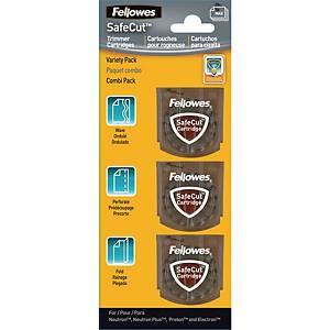 Fellowes Trimmer Blade Kit Pack of 3