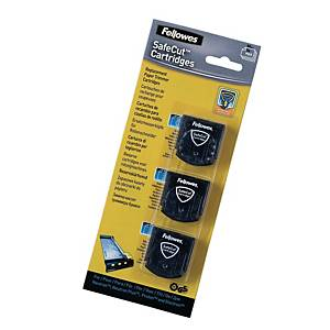 Fellowes Safecut Special Blades Kit - Pack of 3