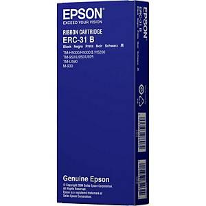 Ruban compatible équivalent Epson ERC 31 - noir