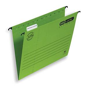 Elba Strongline Ultimate Verticflex Susp Files Foolscap Green V Base - Box of 25
