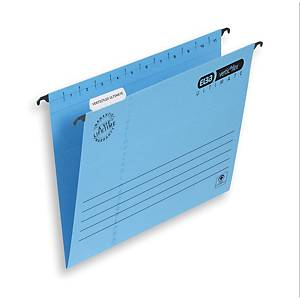Elba Strongline Ultimate Verticflex Suspension Files Foolscap Blue V Base Box 25