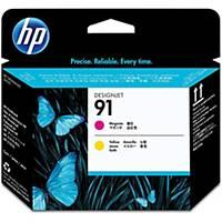 HP 91 Magenta and Yellow DesignJet Printhead (C9461A)
