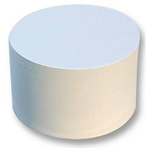 Dessous-de-verre blanc rond -  le paquet de 100