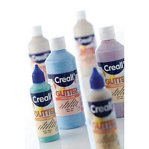 Creall peinture pailletée 250 ml argent