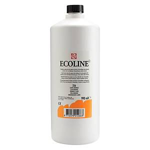 Ecoline peinture aquarelle 1 l orange