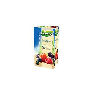 Pickwick tea bags Forest fruits - box of 3 x 25