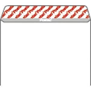 Kirjekuori STC5 tarrasuljenta, valkoinen, myyntierä 1 kpl = 25 kuorta