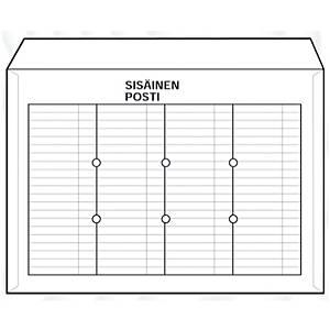 Sisäisen postin kuori TA 3325 C4, vaaleaa kartonkia