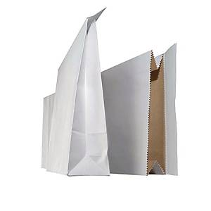 Tuplapussi 320 x 530 x 125mm valkoinen