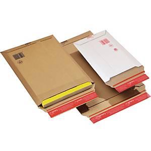 Kartonkikirjepussi A4, 235 x 310 x 30mm valkoinen