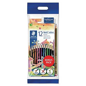스테들러 STAEDTLER 노리스 색연필 144 12색 (12개 구매시 다스구성)