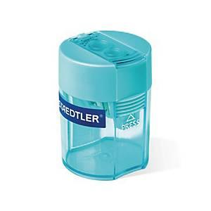 STAEDTLER 雙孔鉛筆刨 藍色