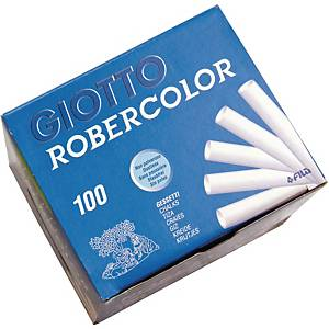 Robercolor taululiitu valkoinen, 1 kpl=100 liitua