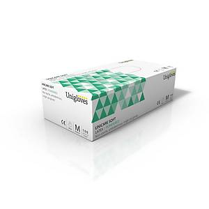 Latex Powder Gloves Clear XL (Box of 100)