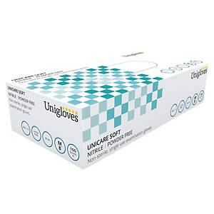 Gants Unigloves GS0033 - nitrile - taille M - 100 gants
