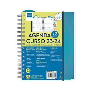 Agenda profesor Finocam - semana vista - 155 x 215 mm - castellano