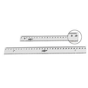 Regla milimétrica de plástico Faibo - 20 cm