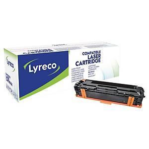 LYRECO COMPATIBLE 128A HP LASER CARTRIDGE CE320A BLACK