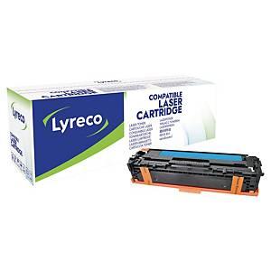 Cartouche de toner Lyreco compatible équivalent HP 128A - CE321A - cyan