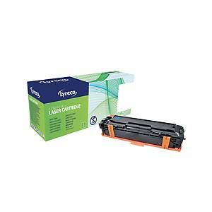 Lyreco HP CE321A Compatible Laser Cartridge - Cyan