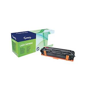 Lyreco HP CE323A Compatible Laser Cartridge - Magenta
