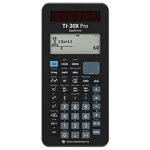 Calculatrice Texas TI-30XP, technico-scientifique, Version de/fr