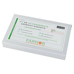 BX101 FARMOR PLASTERS MIXED WH