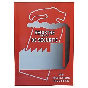 Registre de sécurité - A4
