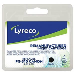 LYRECO kompatible Tintenpatrone CANON PG-510 (2970B001) schwarz