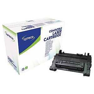Toner Lyreco kompatibel mit HP CE390A, Reichweite: 10.000 Seiten, schwarz