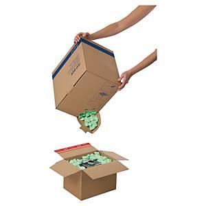 Förpackningschips TidyPac Flo-Pac, 45 L, gröna