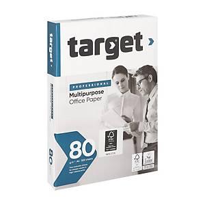 Papier A4 blanc Target Corporate, 80 g, les 500 feuilles