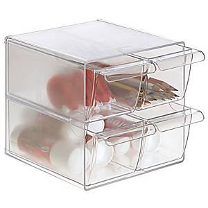 Minimódulo de organização Archivo 2000 - 4 gavetas - vidro