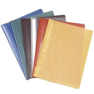 Pikanitojakansio E-462 A4 PVC keltainen