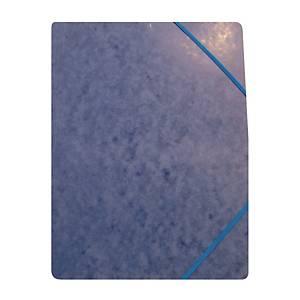 Kulmalukkokansio 105 A4 läpätön sininen