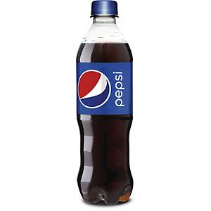 Sodavand Pepsi, 500 ml, pakke a 24 stk.