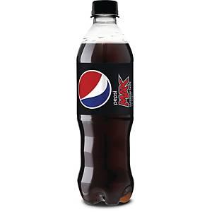 Sodavand Pepsi Max, 500 ml, pakke a 24 stk.
