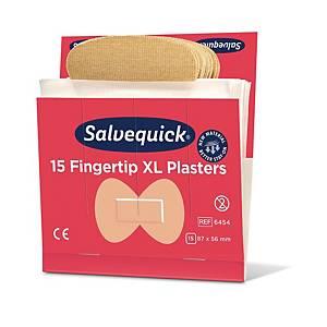 Salvequick 6454 sormenpäälaastari, 1 kpl=6x15 laastaria