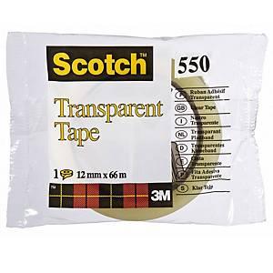 Scotch 550 yleisteippi 12mm x 66m kirkas