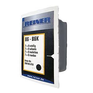 Reiner B6K leimasintyyny musta