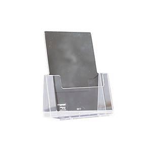 Pöytäteline C160 A5 pystymalli 160x32mm kirkas