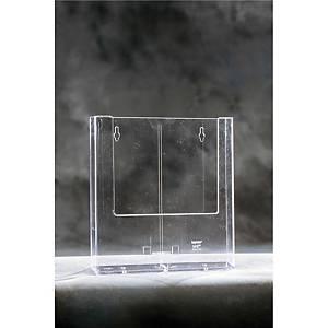 Pöytä-/seinäteline W230 A4 kirkas