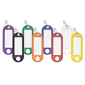 Avaimenperä värilajitelma, 1 kpl=100 avaimenperää