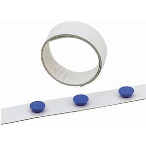 Magneettilista 35mm x 5m valkoinen