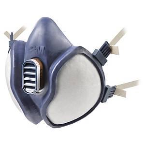 3M 4251 maintenance free half mask respirator reusable