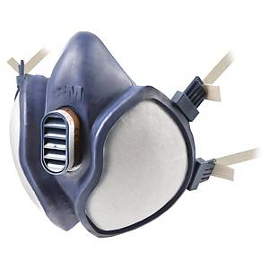 Meia máscara reutilizável 3M 4251 + filtros A1P2 R D