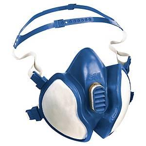 Meia máscara reutilizável 3M 4255 + filtros A2P3 R D