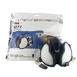 Meia máscara reutilizável 3M 4277 + filtros ABE1P3 R D