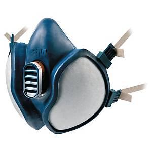Halvmask 3M 4279, med filter, FFABEK1P3 RD